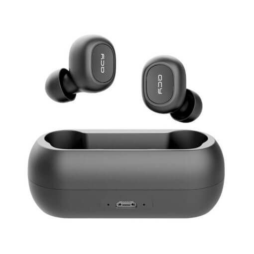 QCY T1/T1C True Wireless Earbuds Black